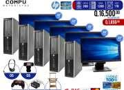 05 computadoras en combo para cafés internet
