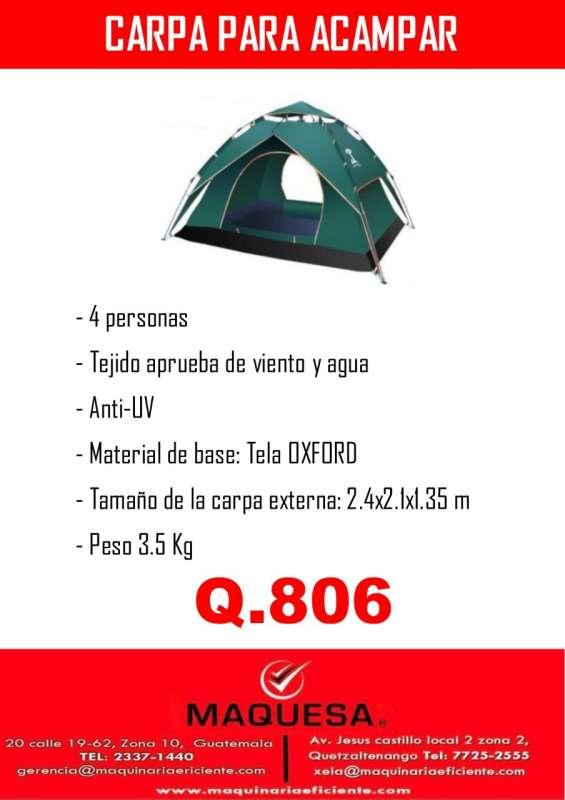 Carpa para acampar