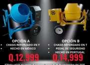 MEZCLADORA DE 1.5 SACOS MOTOR HONDA 100%JAPONES